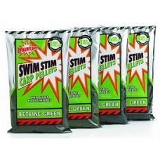 Pelete Dynamite Baits Swim Stim Betain Green 900 g