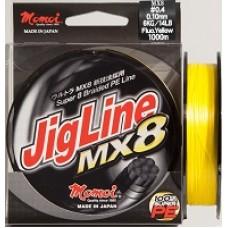 Jigline MX8-Galben Fluo